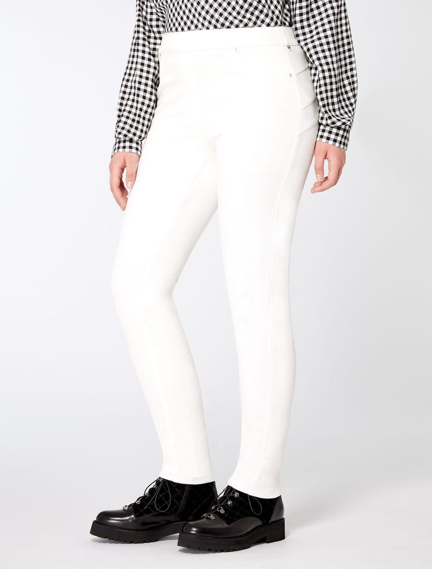Pantalon coupe legging en jersey