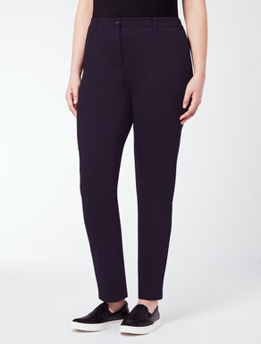 EASY Jersey slim-fit trousers