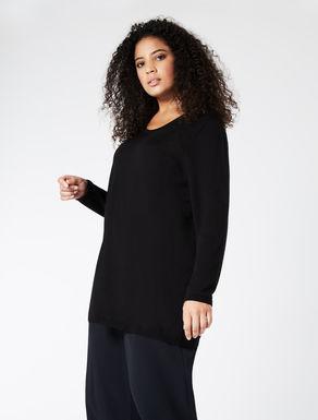 EASY TRAVEL Oversize wool sweater
