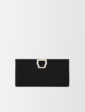 Clutch aus Veloursleder