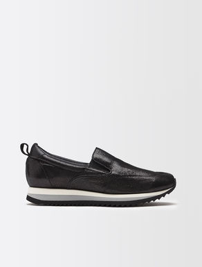 Slip-on nappa sneakers