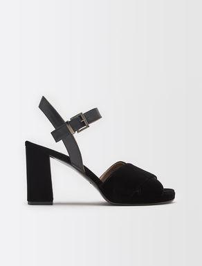 Velvet sandal