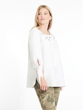 Cotton chambray tunic