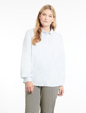 Chemisier en coton stretch