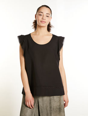 Tencel and linen tunic