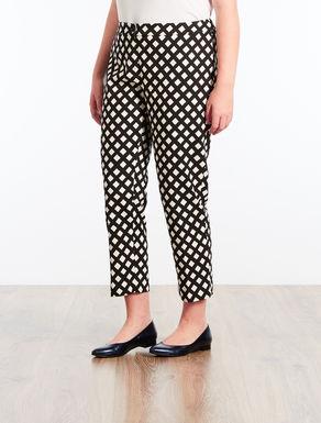 Pantaloni in stuoia stampata