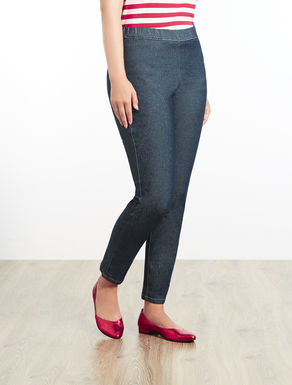 Leggings Fit-Jeans aus Denim