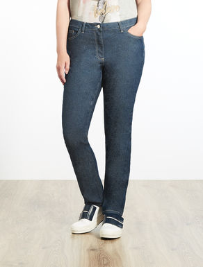 Shaping Fit-Jeans mit Stretch