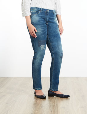 Vaquero corte Shaping de denim stretch