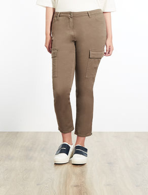 Perfect-fit gabardine trousers