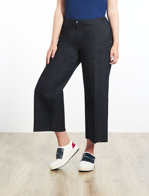 Lightweight denim trousers