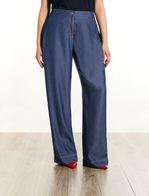 Pantaloni in tencel denim