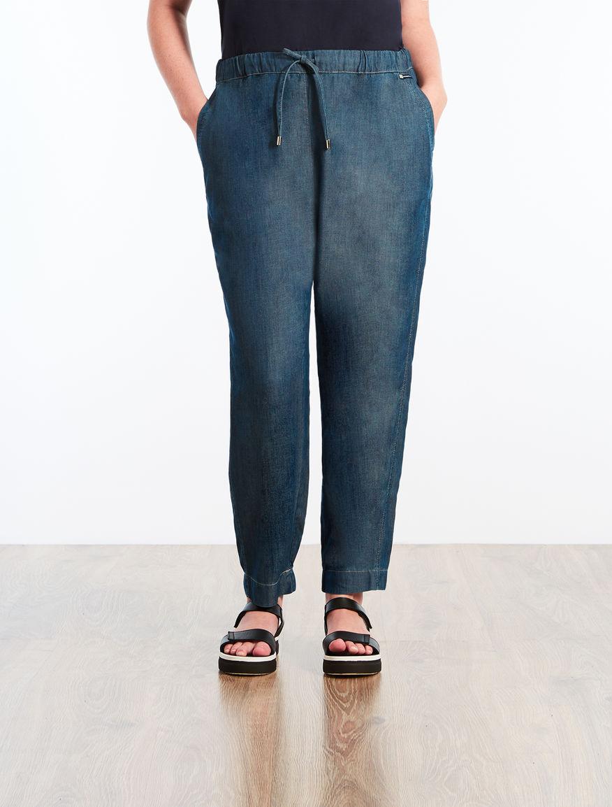 Tencel denim trousers