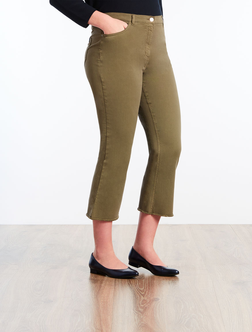 Flared lightweight denim jeans