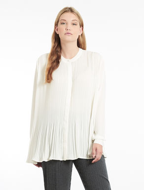 Floaty pleated shirt