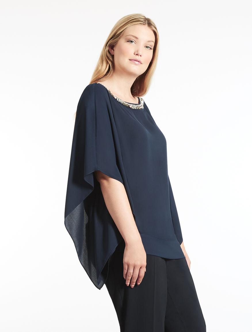 Floaty fabric tunic