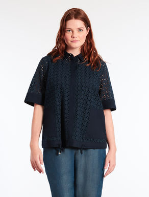 Shirt in broderie anglaise