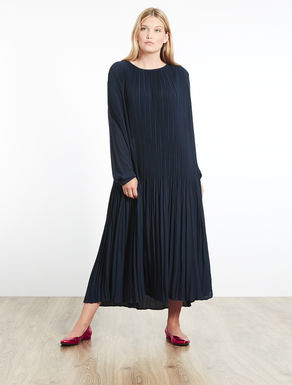 Floaty pleated dress
