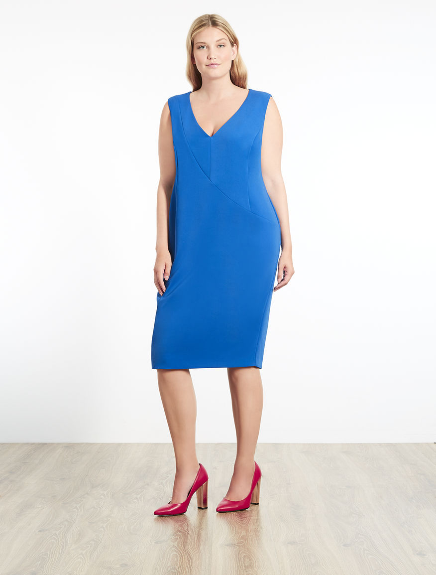 Floaty fabric tube dress