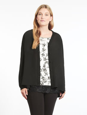 Floaty viscose cardigan