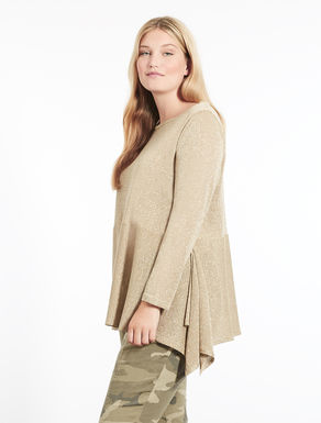 Lurex viscose sweater