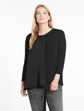 Floaty viscose sweater
