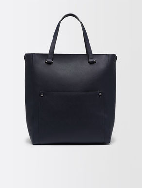 Shopper bag with maxi pocket