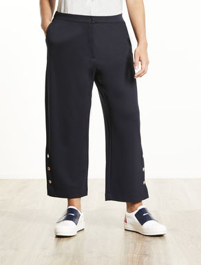 Pantalon en jersey point de Milan
