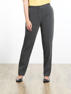 Trousers in Milano-stitch jersey