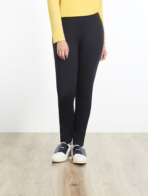 Pantalon legging en point de Milan