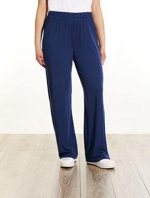 Jersey palazzo trousers