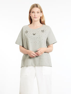 Cotton fleece T-shirt