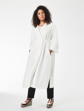 Long triacetate duster coat