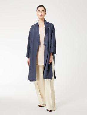 Hemp twill duster coat