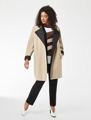 Double nylon raincoat