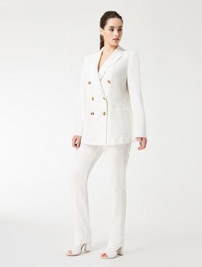 Cotton crêpe jacket