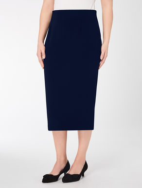 Triacetate longuette skirt