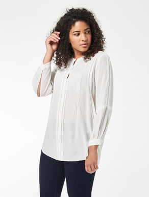 Sablé shirt with embroidery