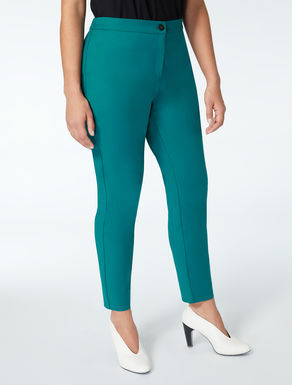 Pantaloni in cotone nylon stretch