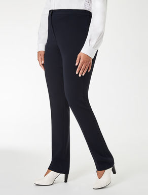 Pantaloni slim fit in triacetato