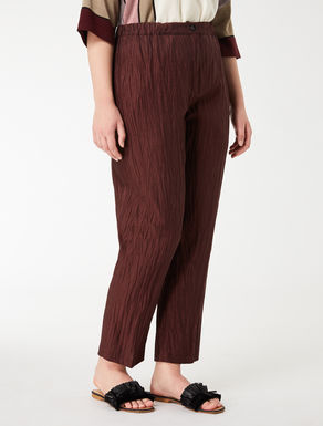 Silk and linen trousers