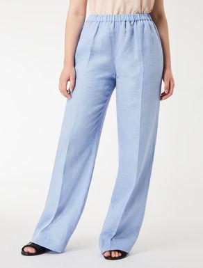Lightweight linen trousers