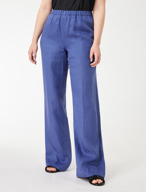 Lightweight linen trousers