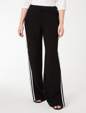 Lightweight triacetate trousers