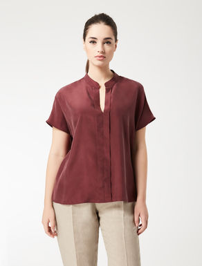 Habotai silk blouse