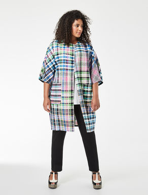 Manteau multicolore