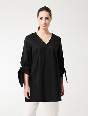 Cotton poplin tunic