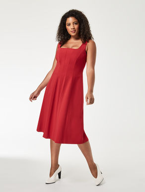 Crêpe jersey dress
