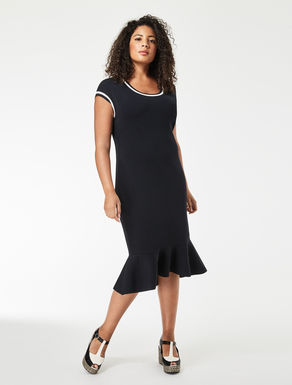 Viscose tube dress
