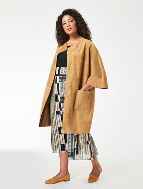 Nappa suede jacket